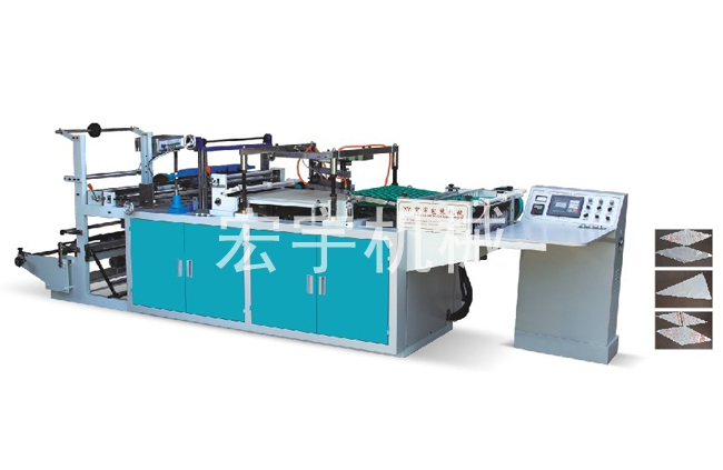 triangle bag making machine