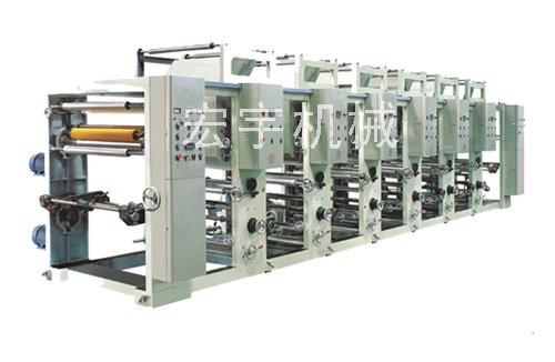 HY-ASY-S series gravure combined type printing machine