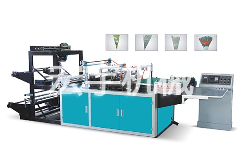 HY-RDY600/700/800 triangle bah-making machine(fresh flower bag-making machine)