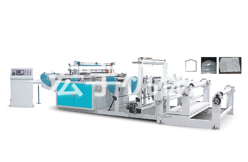 The HY-RQ800/1000/1300 multi –purpose computets hang the pocket bag-making machine